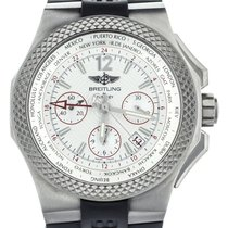 Breitling Bentley B04 GMT Titanium 45mm White United States of America, Illinois, BUFFALO GROVE