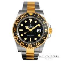 Rolex GMT-Master II tweedehands 40mm Zwart GMT Goud/Staal