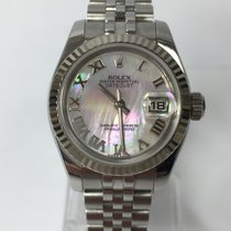 Rolex Lady-Datejust Acero 26mm Madreperla Romanos