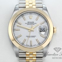 Rolex Datejust Acero y oro 41mm Blanco