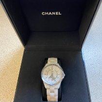 Chanel J12 Céramique 36.5mm Blanc Arabes