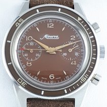 Minerva Steel Manual winding pre-owned