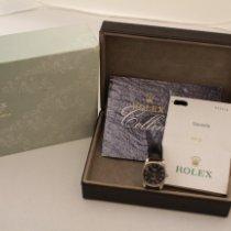 Rolex Oro bianco 25mm Quarzo 6229 usato Italia, Parma
