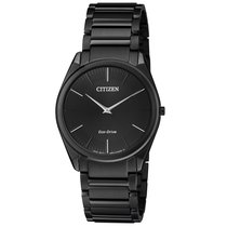 Citizen Stiletto Steel 38mm Black United States of America, New Jersey, Somerset
