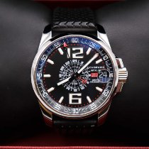 Chopard Steel Automatic Black Arabic numerals 44mm pre-owned Mille Miglia