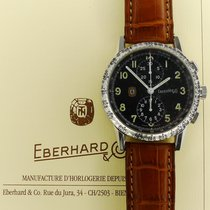 Eberhard & Co. Tazio Nuvolari Steel 43mm Black Arabic numerals