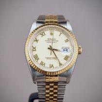 Rolex Datejust Gold/Steel 36mm White Finland, Helsinki