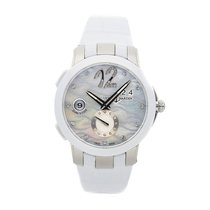 Ulysse Nardin Executive Dual Time Lady Steel 40mm White Arabic numerals United States of America, Pennsylvania, Bala Cynwyd