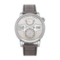 A. Lange & Söhne Zeitwerk Platinum 41.9mm Silver Arabic numerals United States of America, Pennsylvania, Bala Cynwyd