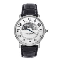 Cartier White gold 42mm Manual winding W1550151 pre-owned