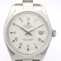 Rolex Oyster Perpetual Date Stahl 34mm Silber Keine Ziffern Deutschland, Berlin