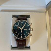 IWC Pilot Chronograph Acier 43mm Bleu Arabes France