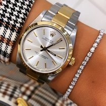 Rolex Oyster Perpetual 31 Acero y oro 31mm Plata