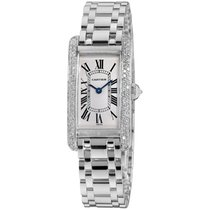 Cartier Tank Américaine pre-owned 19mm Silver White gold