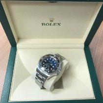Rolex Sea-Dweller Deepsea Steel 44mm Blue No numerals United States of America, 38655
