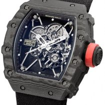 Richard Mille RM 035 RM 035-01 Novo Carbono Corda manual