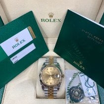 Rolex Datejust Gold/Steel 41mm Champagne No numerals United States of America, New York, New York