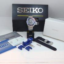 Seiko Prospex Stål 43.8mm Sort Ingen tal
