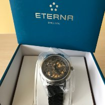 Eterna Steel 42mm Manual winding 7000.41  354.4768 new