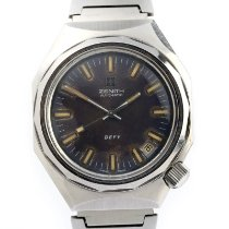 Zenith Steel Automatic 37mm pre-owned Defy