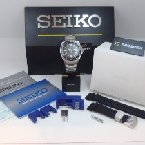Seiko Prospex Сталь 43.8mm Чёрный