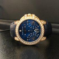 哈利温•斯顿 Ocean 玫瑰金 36mm 藍色