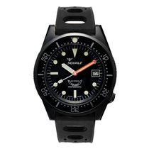 Squale Steel 42mm Automatic 1521 Squale 1521 Polished Black new