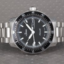 Sinn 104 Steel 41mm Black No numerals