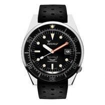 Squale 1521-PBLBR Squale 1521 Polished Black 2020 new