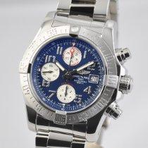 Breitling Avenger II Steel 43mm Blue Arabic numerals United States of America, Ohio, Mason