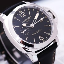 Panerai 沛纳海 00531 Steel Luminor 1950 3 Days GMT Automatic 44mm pre-owned