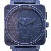 Bell & Ross BR 01-94 Chronographe BR 01-94 Gut Stahl 46mm Automatik Schweiz, Nyon