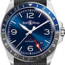Bell & Ross BR V2 Steel 41mm Blue United States of America, New York, Airmont