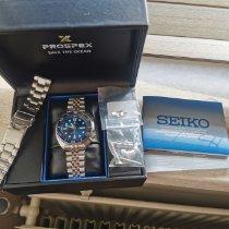Seiko Prospex Acél Kék Számjegyek nélkül