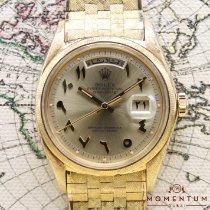 Rolex Day-Date Yellow gold 36mm Gold Arabic numerals UAE, Dubai