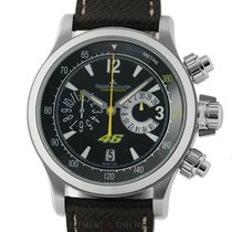 Jaeger-LeCoultre Master Compressor Chronograph Steel 41mm Black United States of America, New York, New York