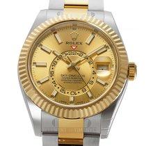 Rolex Sky-Dweller Gold/Steel 42mm Champagne United States of America, New York, New York