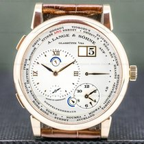 A. Lange & Söhne Lange 1 Rose gold 41.9mm Roman numerals United States of America, Massachusetts, Boston