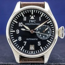 IWC Big Pilot Steel 46mm Black Arabic numerals United States of America, Massachusetts, Boston