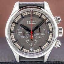 Zenith El Primero Sport Acier 45mm Argent