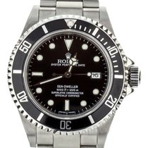 Rolex Black pre-owned Sea-Dweller 4000