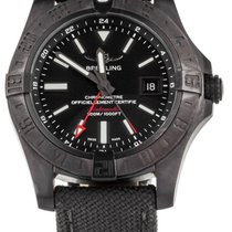 Breitling Avenger II GMT Steel 43mm Black United States of America, Illinois, BUFFALO GROVE