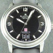 Blancpain Léman Steel 38mm Black Arabic numerals