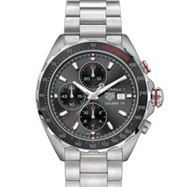 TAG Heuer Formula 1 Calibre 16 Steel 44mm Grey No numerals