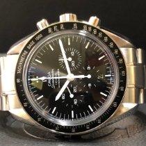 Omega Speedmaster Professional Moonwatch Steel 44.25mm Black No numerals Singapore