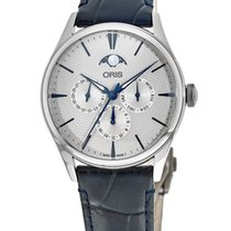 Oris Artelier Complication Steel No numerals United States of America, New York, Brooklyn