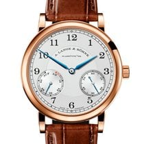 A. Lange & Söhne Rose gold Manual winding Silver Arabic numerals 39mm new 1815