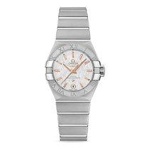 Omega Constellation Ladies neu 2021 Automatik Uhr mit Original-Box und Original-Papieren 127.10.27.20.02.001