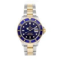 Rolex 16613 Steel Submariner Date 40mm pre-owned United States of America, Pennsylvania, Bala Cynwyd