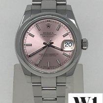 Rolex Lady-Datejust Acero 31mm Rosa Sin cifras